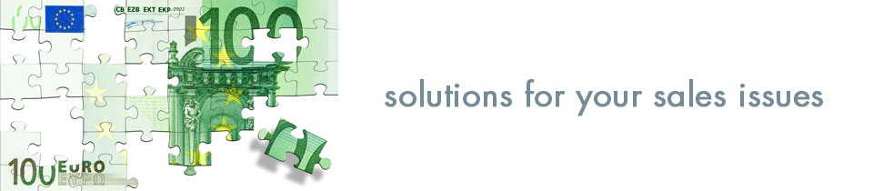 Solutions to your sales issues